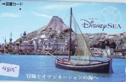 Carte Prépayée Japon *  DISNEY SEA  (4805) KARTE  Japan Prepaid Card * - Disney