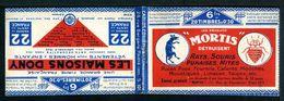 Carnets 192-C2 Et C5 Semeuse 30c Bleu - Couverture Vide Série 101 O - Carnets