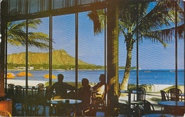 Honolulu (Hawaii) - The Royal Hawaiian - View Of Diamond Head And Waikiki Beach - Honolulu