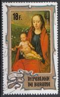 "Burundi 1974 Sc. CB32 ""Madonna Del Roseto"" Quadro Dipinto Da Hans Memling Paintings CTO Tableaux - Burundi"