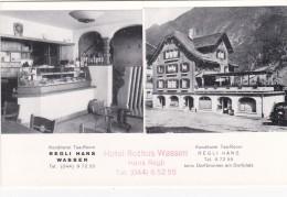 Konditorei Tea-Room Regli Hans - Wassen, Beim Dorfbrunnen Am Dorfplatz - UR Uri
