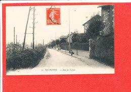 95 EAUBONNE  Cpa Animée Rue Des Calais                   33 ELD - Eaubonne