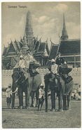 Siamese Temple With 2 Elephants - Thaïlande