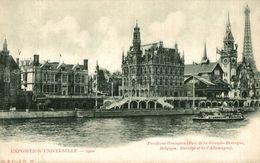 PARIS EXPOSITION UNIVERSELLE 1900 PAVILLON GRANDE BRETAGNE BELGIQUE NORVEGE ET ALLEMAGNE - Exhibitions