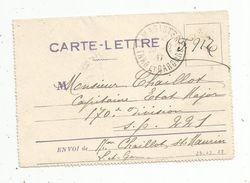 Carte Lettre , 23-12-1917 , F.M , LAMAGISTERE , TARN ETGARONNE - Storia Postale
