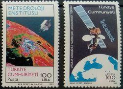 Turkey, 1985, Mi. 2705, 2730, Space, MNH - Space