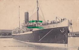17-  Carte Postale Ancienne De LA PALLICE- ROCHELLE  Paquebot Victoria - La Rochelle