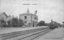 NONANCOURT LA GARE - Stations - Met Treinen