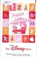 RARE * Télécarte Japon * 110-212203 * DISNEY STORE (4814)  Japan Movie Phonecard * POOH * PINOCCHIO * SNOWWHITE * MOVIES - Disney