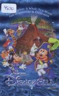 Télécarte Japon * MF-100949 * DISNEY SEA (4820) MICKY + MINNIE + GOOFY  * Japan Phonecard - Disney