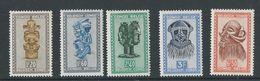 Congo Belge: 285A - 286B - 287A - 288A - 291A ** - Congo Belge
