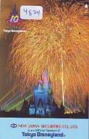 Télécarte JAPON * 110-141315 * DISNEY  (4824) PHONECARD JAPAN * Telefonkarte * - Disney