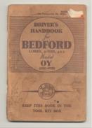 Oldtimer - Camion BEDFORD , Lorry, 3 - Ton, 4 X 2 Model OY - Livre Technique 1944 - Version Civile Ou Militaire ? (b223) - Bücher, Zeitschriften, Comics