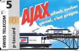 Swiss Telecom: Ajax - Lokomotiven - Switzerland