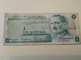 1 Quetzal 1978 - Guatemala