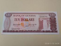 10 Dollars 1989 - Guyana