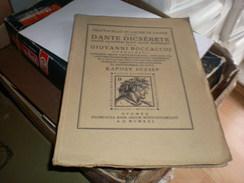 Judaica Kner Izidor Gyoma 1921 Trattatello In Laude Di Dante Dante Dicserete  Kaposy Jozsef Printed In 60 Copies, This I - Books, Magazines, Comics