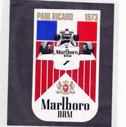 Sticker Marlboro Paul Ricard 1973 - Automovilismo - F1