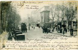 FRANCE  PARIS  Lot 8 CPA  Voyages Début 1900  Toutes Les Images - 5 - 99 Cartoline