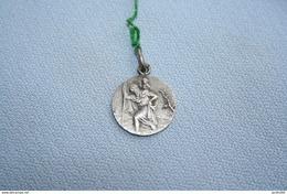Médaille De St Christophe En ARGENT - Godsdienst & Esoterisme