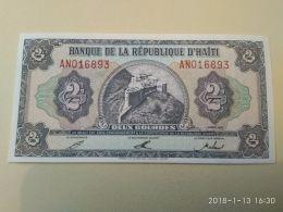 2 Gourdes 1992 - Haiti