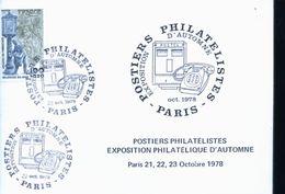 POSTIER DE PARIS 1978 - Stamps (pictures)