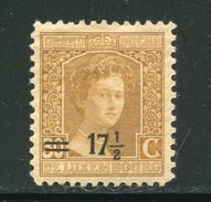LUXEMBOURG- Y&T N°114- Neuf Avec Charnière * - 1914-24 Maria-Adelaide