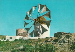 Mykonos,(Grecia, Greece) Wind Mill, Moulin A Vent, Die Wind-Mulle, Mulino A Vento - Grèce