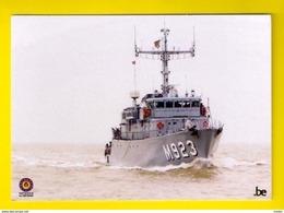 M923 NARCIS Belgian Navy Ship Schip MARINE Zeemacht Force Navale Belge Bateau De Guerre Militaire Militair 3334 - Warships