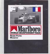 Sticker Marlboro Alain Ferte - Maurer - Car Racing - F1