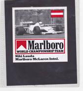 Sticker Marlboro Niki Lauda - Marlboro Mc Laren - Automobile - F1