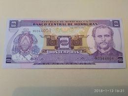 2 Lempiras 2014 - Honduras