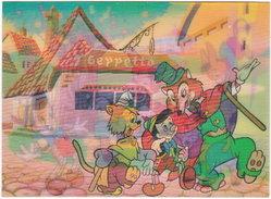 Gf. Lenticulaire 3D. DISNEY. Pinocchio And Friends. 209 - Disney