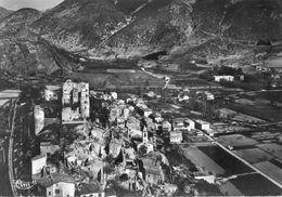 26 - Montbrun Les Bains - Vue Aérienne Du Vieux Village - Autres Communes