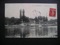 Le Perreux.-La Passarelle De Bry 1908 - Francia