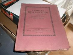 Judaica Kner Izidor Gyoma 1922 A Kiraly Es ABajader Malavika Es Agnimitra Kalidasza Vigjateka - Books, Magazines, Comics