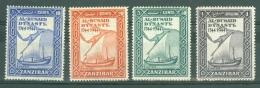 Zanzibar: 1944   Bicentenary Of Al Busaid Dynasty    MH - Zanzibar (...-1963)
