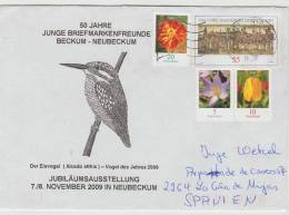 BRD1025 / Ganzsache 1200 Jahre Magdeburg + Blumenfrankatur - BRD
