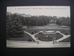 Saint-Genis-Laval-Longchene(Rhone)-Le Jardin Anglais Et Le Parc Des Enfants 1917 - Autres Communes