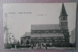 Tirlemont/Tienen – Eglise De Grimde (1905)---L.L., Bruxelles 8 (écrite/gseschreven) - Tienen