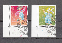 1989  N° 775-776  OBLITERES  VENDU à 15%    CATALOGUE  ZUMSTEIN - Suisse