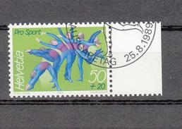 1987  EMISSIONS AVEC SURTAXE  N° 67  OBLITERE      CATALOGUE  ZUMSTEIN - Suisse