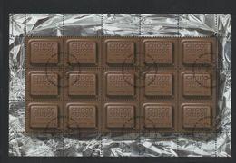 2001 Schokolade Kleinbogen Gestempelt - Blocks & Kleinbögen