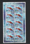 2002 Rettungsflugwacht Kleinbogen Gestempelt - Blocks & Kleinbögen
