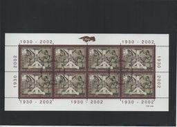 2002 Briefmarkenherstellung  Kleinbogen Gestempelt - Blocks & Kleinbögen