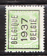 PRE319**  Petit Sceau De L'Etat - Belgique 1937 - MNH** - LOOK!!!! - Prematasellados