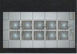 2004 CERN Kleinbogen Gestempelt - Blocks & Kleinbögen