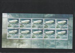 2004 Zeppelin NT Kleinbogen Gestempelt - Blocks & Kleinbögen
