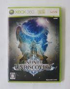 Xbox 360 Japanese : Infinite Undiscovery  YJA-00002 - X-Box
