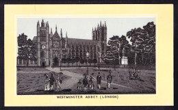 CHROMO AMIDON  REMY LOUVAIN   Westminster Abbey London   Imp.  Vve G. Masur Bruxelles - Autres